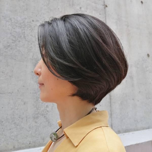 表参道美容室LaLaのヘアショートスタイル